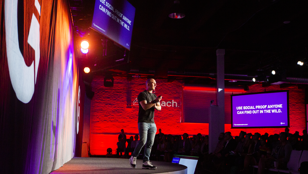 Dave Gerhardt at Reach 2019