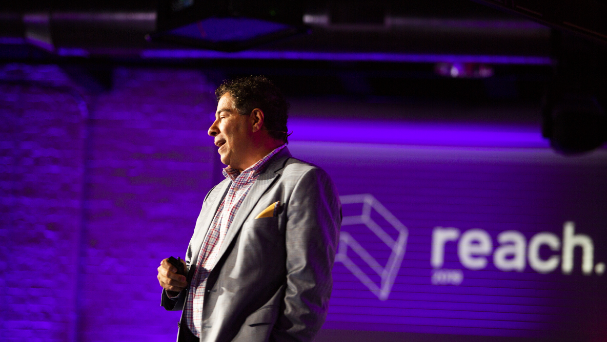 Joe Fuca at Reach 2019
