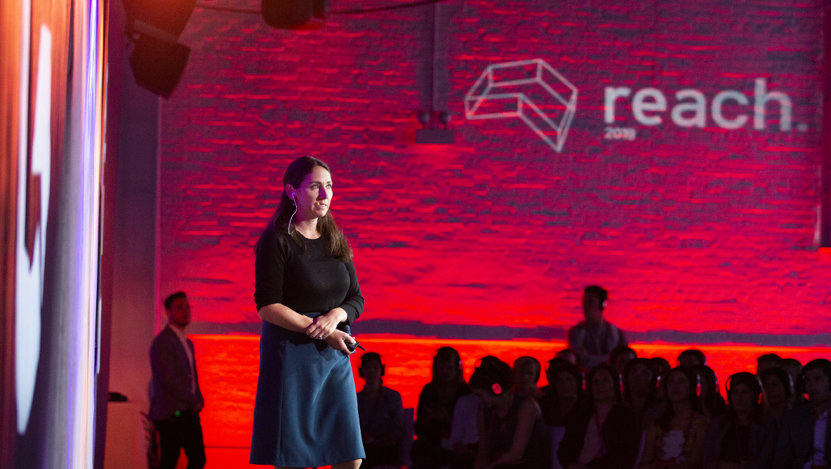 Meghan Keaney Anderson at Reach 2019