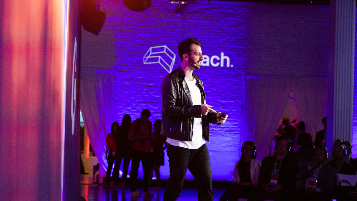 Steli Efti at Reach 2019